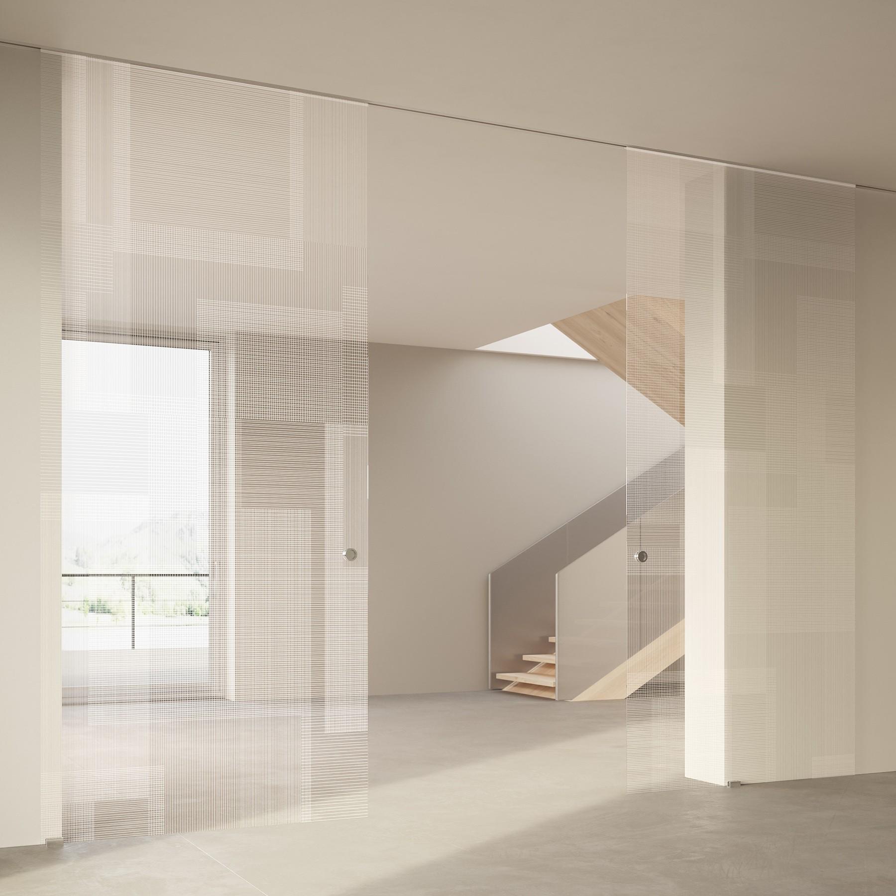 Scenario Visio Up with BIT 03 trasparente extrachiaro bianco glass