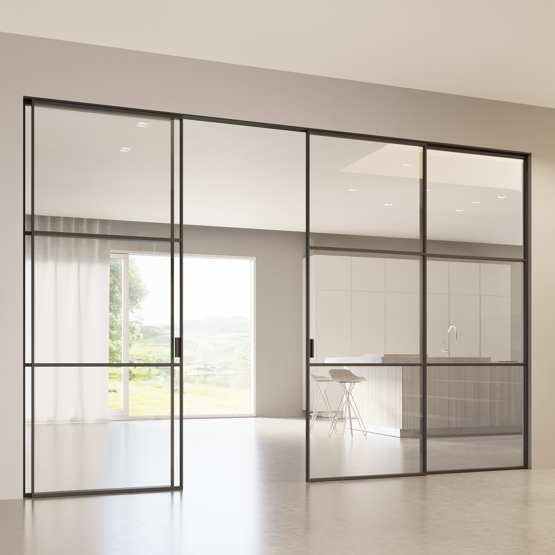 Scenario Delineo / 2 with Transparent extraclear glass