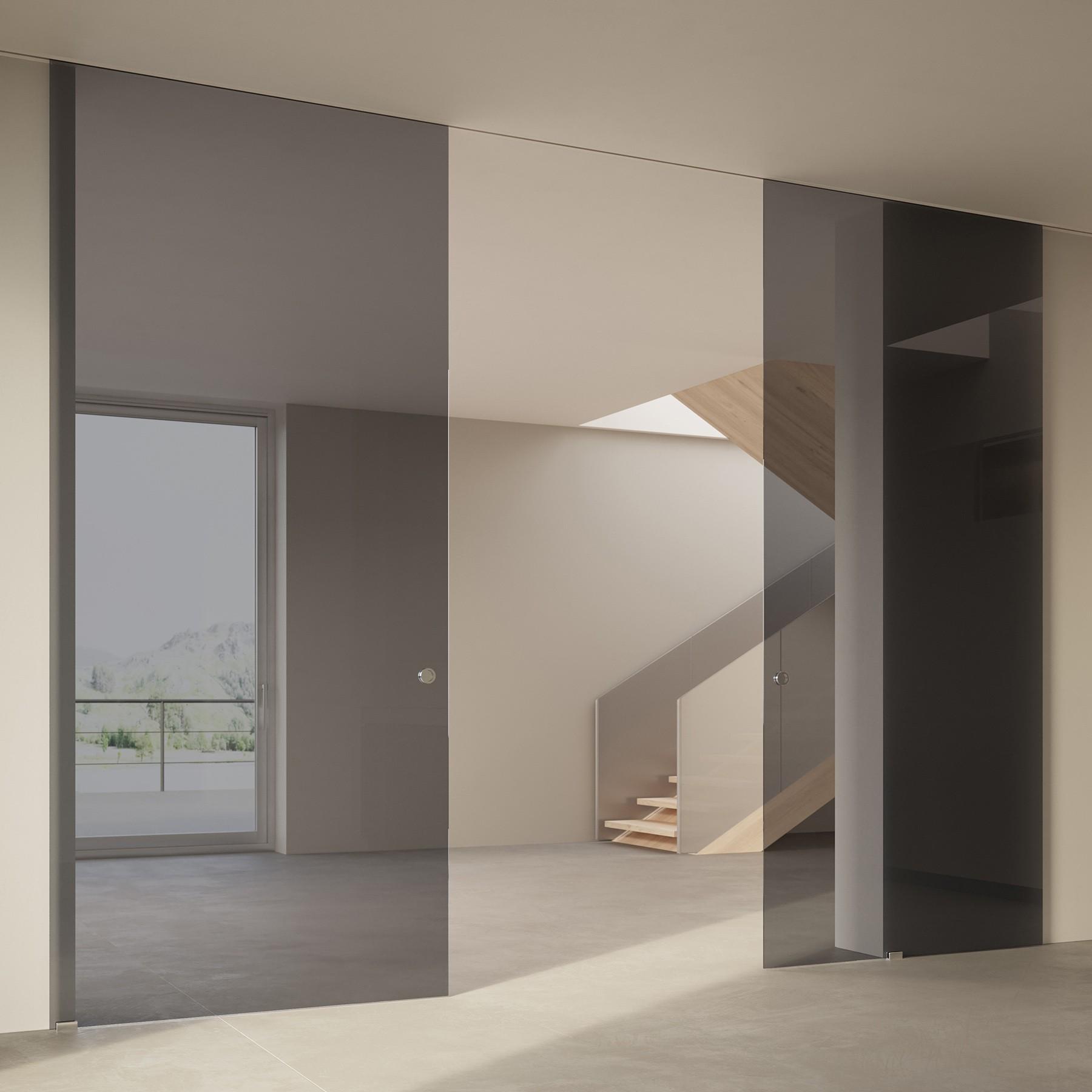 Scenario Visio Up with Transparent grigio glass