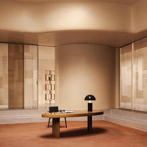 Les meilleures portes, y compris celles en verre, proviennent à l'origine de FerreroLegno, en Italy
