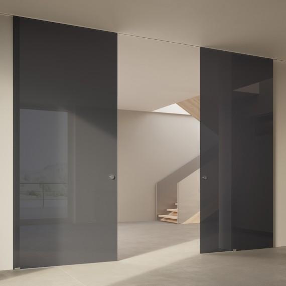 Scenario Visio Up with Textil Extrachiaro Grigio glass