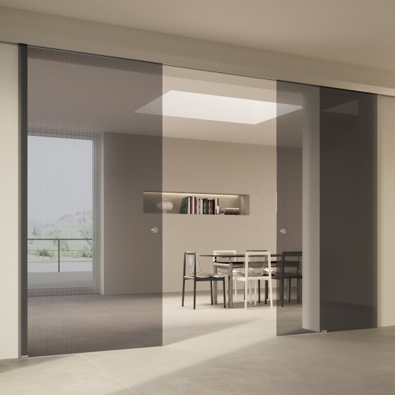 Scenario Visio with Chillout Trasparente Grigio glass