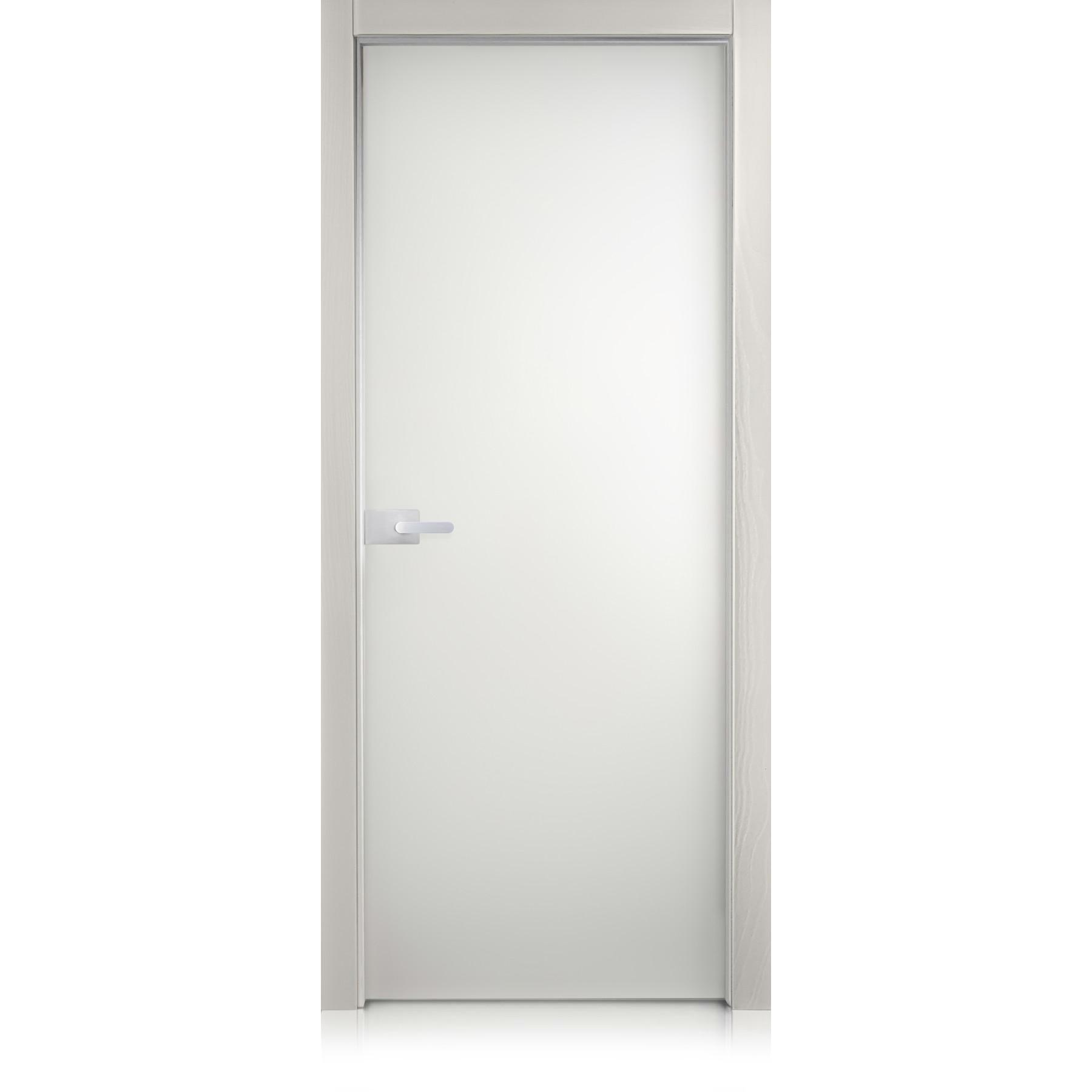 Cristal Basic trame grigio lux door