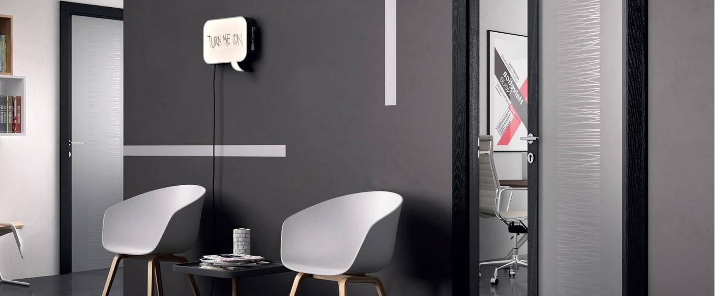 Porte Interne in Vetro Cristallo Temperato - Glass - FerreroLegno