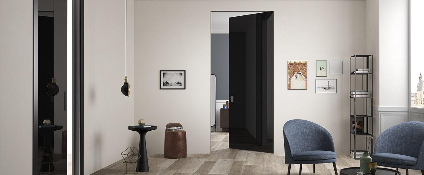 Porte Vetro e Alluminio - Cristal Frame - FerreroLegno
