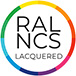 Lacquered RAL/NCS