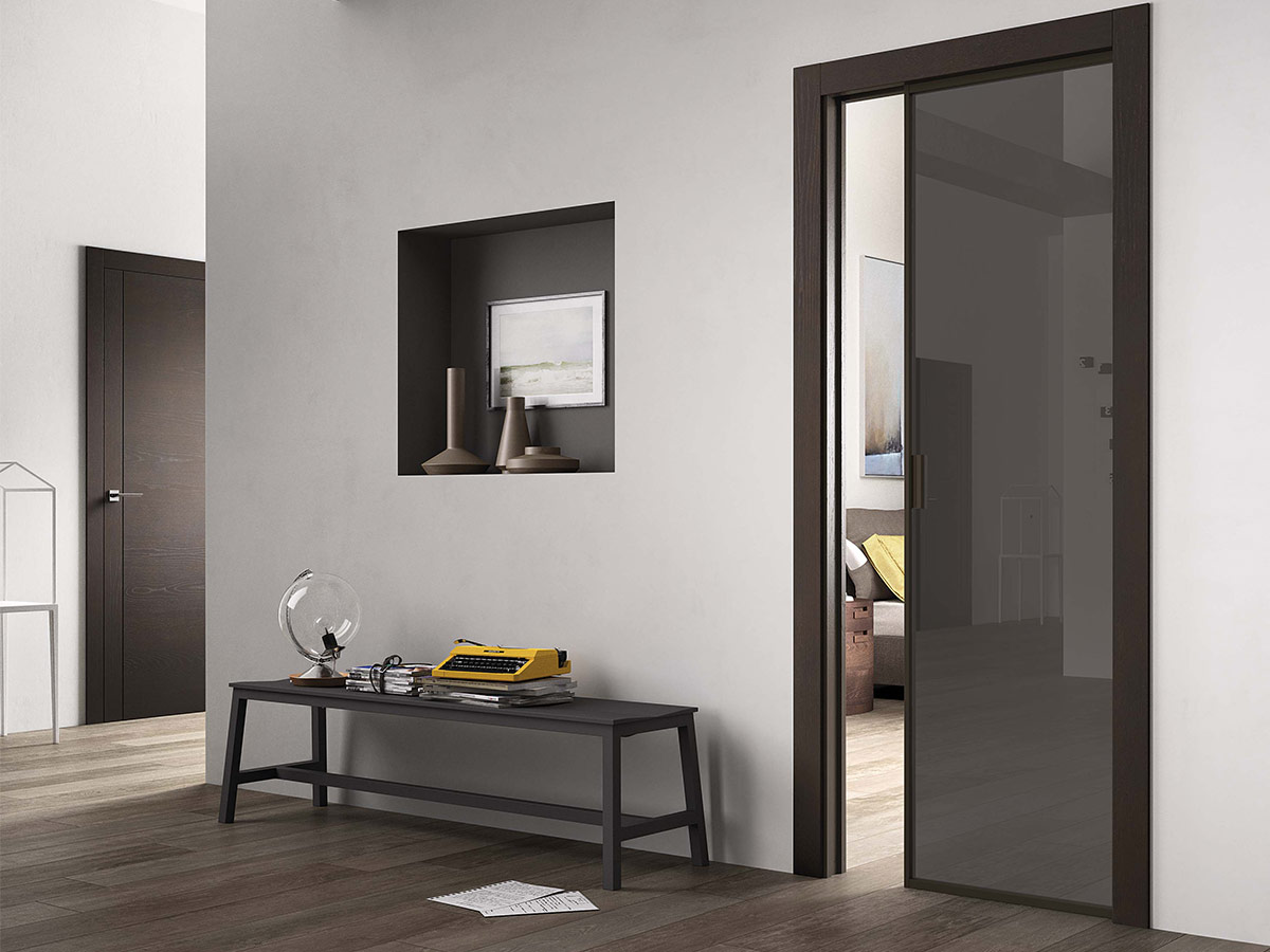 Porte pregiate in legno, vetro, laminato