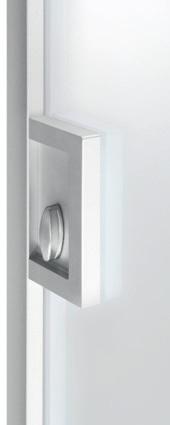 Serratura con nottolino <span>per Cristal Frame</span>