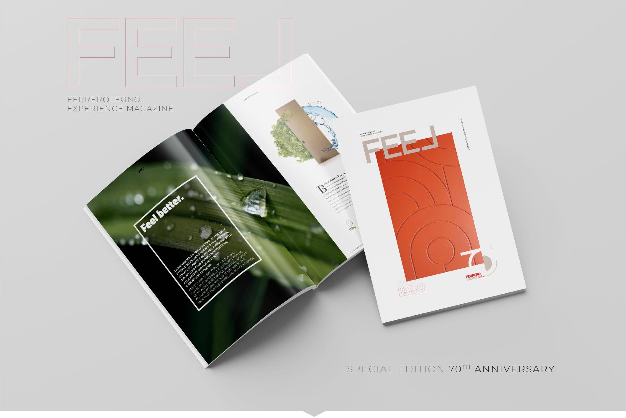 The new FerreroLegno magazine FEEL 3 has arrived!