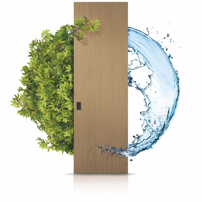 Doors built with complete respect for our ecosystem